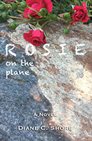 ROSIE on the plane cover
